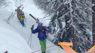 Backcountry Skiing-La Plagne, Paradiski-Backcountry skiing in La Plagne-6