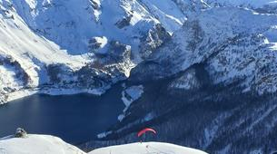 Paragliding-Tignes, Espace Killy-Formation au Parapente Hiver à Tignes-3