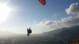 Parapente-Côte Amalfitaine, Amalfi-Vol biplace en parapente à Capaccio-Paestum près de la côte Amalfitaine-1