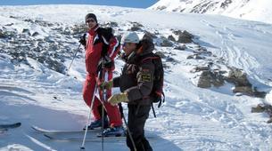 Backcountry Skiing-La Plagne, Paradiski-Backcountry skiing in La Plagne-4