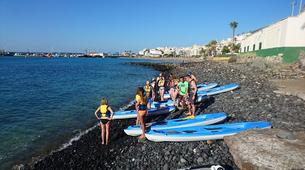 Stand up Paddle-Costa Adeje, Tenerife-Stand up paddle excursion with dolphins and turtles in Los Cristianos-2