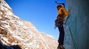 Cascade de Glace-Gressoney-Ice climbing in Gressoney-4