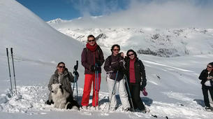 Snowshoeing-Ariege-Snowshoeing excursions in Ax-les-Thermes, Ariege-1
