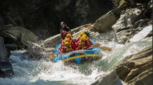 Rafting-Queenstown-Half day rafting excursion down Shotover River-3