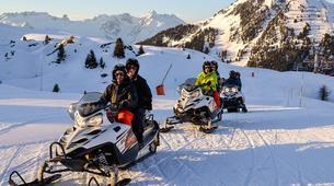Motoneige-La Plagne, Paradiski-Randonnée Motoneige à La Plagne-2