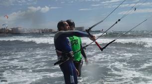 Kitesurfing-Costa Adeje, Tenerife-Private kitesurfing courses in El Médano from Costa Adeje-1