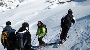 Backcountry Skiing-La Plagne, Paradiski-Backcountry skiing in La Plagne-1