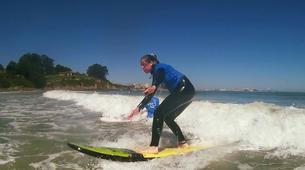 Surf-La Corogne-Surfing lesson in Galicia-1