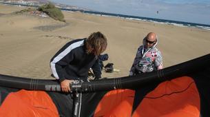 Kitesurfing-Maspalomas, Gran Canaria-Group kitesurfing courses in Maspalomas, Gran Canaria-4
