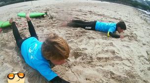 Surf-La Corogne-Surfing lesson in Galicia-2