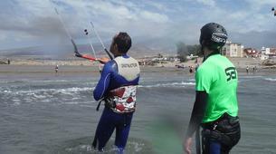 Kitesurfing-Costa Adeje, Tenerife-Private kitesurfing courses in El Médano from Costa Adeje-2