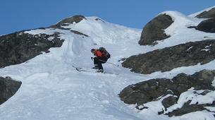 Backcountry Skiing-La Plagne, Paradiski-Backcountry skiing in La Plagne-3