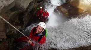 Canyoning-Cirque de Salazie, Hell-Bourg-Canyon Trou Blanc in Reunion Island-8