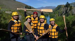 Rafting-Queenstown-Half day rafting excursion down Kawarau River-5