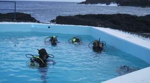 Scuba Diving-Pico-PADI Bubblemaker course for children on Pico Island-1