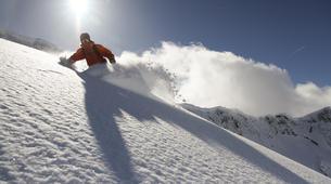 Backcountry snowboarding-Madonna di Campiglio-Backcountry snowboarding in Madonna di Campiglio-1