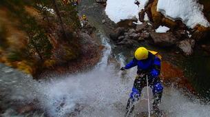 Canyoning-Hautes-Pyrénées-Canyon Hivernal / Ice Canyoning de l'Ossoue (Aval) dans les Hautes Pyrénées-3