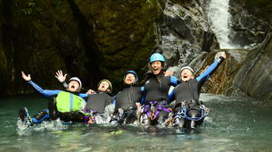 Canyoning-Queenstown-Gibbston Valley Canyoning from Queenstown-1