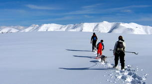 Snowshoeing-Le Lioran-Snowshoeing around Le Lioran (Cantal)-4