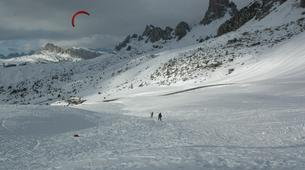 Snowkiting-Cortina d'Ampezzo-Snowkiting beginner course in Cortina d'Ampezzo-1