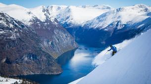 Ski touring-Stranda-Guided ski touring in Sunnmøre Alps-6