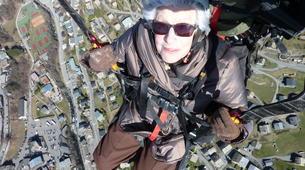 Paragliding-Morzine, Portes du Soleil-Tandem paragliding flight in Morzine - Avoriaz-7