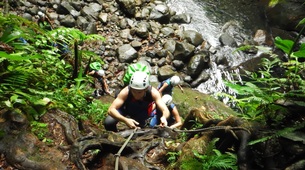 Canyoning-Guadeloupe-Canyon of Ravine Chaude in Guadeloupe-1