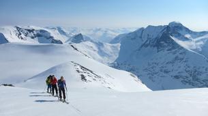 Ski touring-Stranda-Guided ski touring in Sunnmøre Alps-1