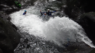 Canyoning-Guadeloupe-Canyon of Ravine Chaude in Guadeloupe-4