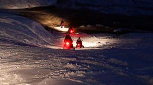 Snowmobiling-Ponte di Legno-Snowmobile night excursion with typical dinner in Ponte di Legno-2