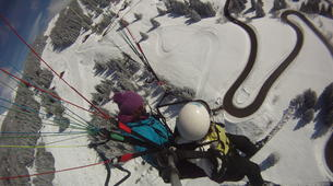 Paragliding-Morzine, Portes du Soleil-Tandem paragliding flight in Morzine - Avoriaz-8