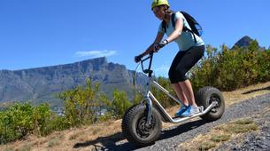 Trottinette-Le Cap-Downhill scooter trails on Table Mountain-2