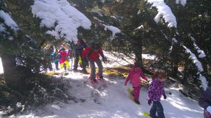 Snowshoeing-Saint Lary-Family friendly snowshoeing excursion in the Vallée d'Aure-2