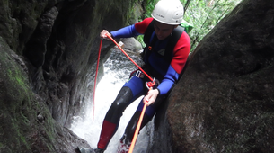 Canyoning-Guadeloupe-Canyon of Ravine Chaude in Guadeloupe-6