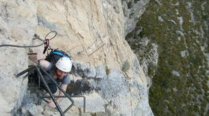 Via Ferrata-Sisteron-Via ferrata of la Grande Fistoire in Sisteron-2
