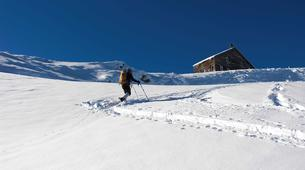 Snowshoeing-Province of Lleida-Snowshoeing tour in Els Encantats mountain-1