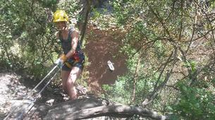Abseiling-George-Abseiling down the Swart River Waterfall-1
