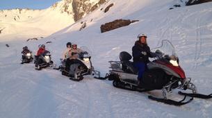 Snowmobiling-Barèges-Snowmobile excursion in Barèges-1