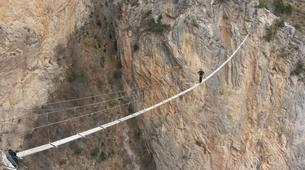 Via Ferrata-Sisteron-Via ferrata of la Grande Fistoire in Sisteron-1