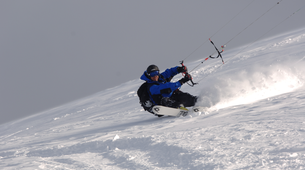 Snowkiting-Cortina d'Ampezzo-Snowkiting beginner course in Cortina d'Ampezzo-3