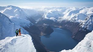 Ski touring-Stranda-Guided ski touring in Sunnmøre Alps-5