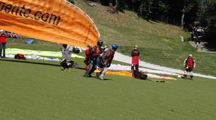 Paragliding-Morzine, Portes du Soleil-Paragliding initiation course in Morzine Avoriaz-1