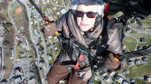 Paragliding-Morzine, Portes du Soleil-Paragliding initiation course in Morzine Avoriaz-4