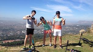 Mountain bike-Cape Town-Double mountain biking descent on Table Mountain-1