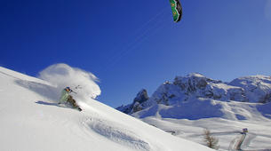 Snowkiting-Cortina d'Ampezzo-Snowkiting beginner course in Cortina d'Ampezzo-2
