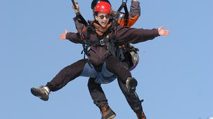 Paragliding-Morzine, Portes du Soleil-Paragliding initiation course in Morzine Avoriaz-5