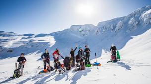 Snowshoeing-Le Lioran-Snowshoeing around Le Lioran (Cantal)-2