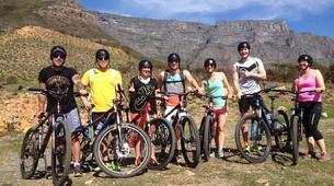 Mountain bike-Cape Town-Double mountain biking descent on Table Mountain-3