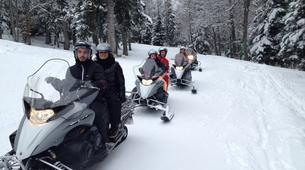 Snowmobiling-Barèges-Snowmobile excursion in Barèges-3