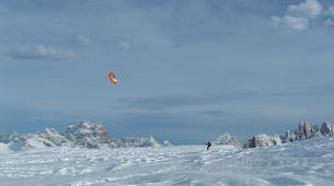 Snowkiting-Cortina d'Ampezzo-Snowkiting beginner course in Cortina d'Ampezzo-6